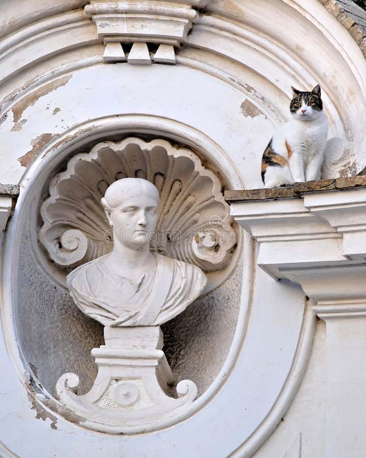 Rome, Villa Borghese Royalty Free Stock Images