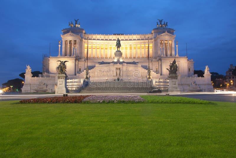 rome vittoriano royaltyfri foto