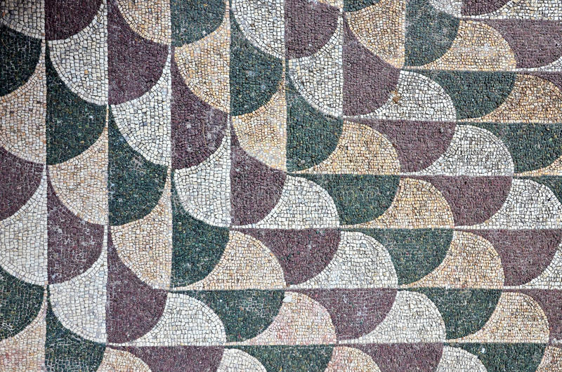 Romein mosaik royalty-vrije stock afbeelding