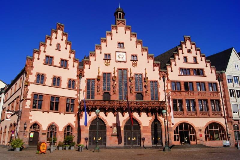Romer buildings of Frankfurt royalty free stock photography