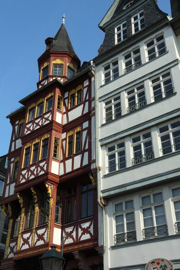 Romer em Francoforte imagem de stock royalty free