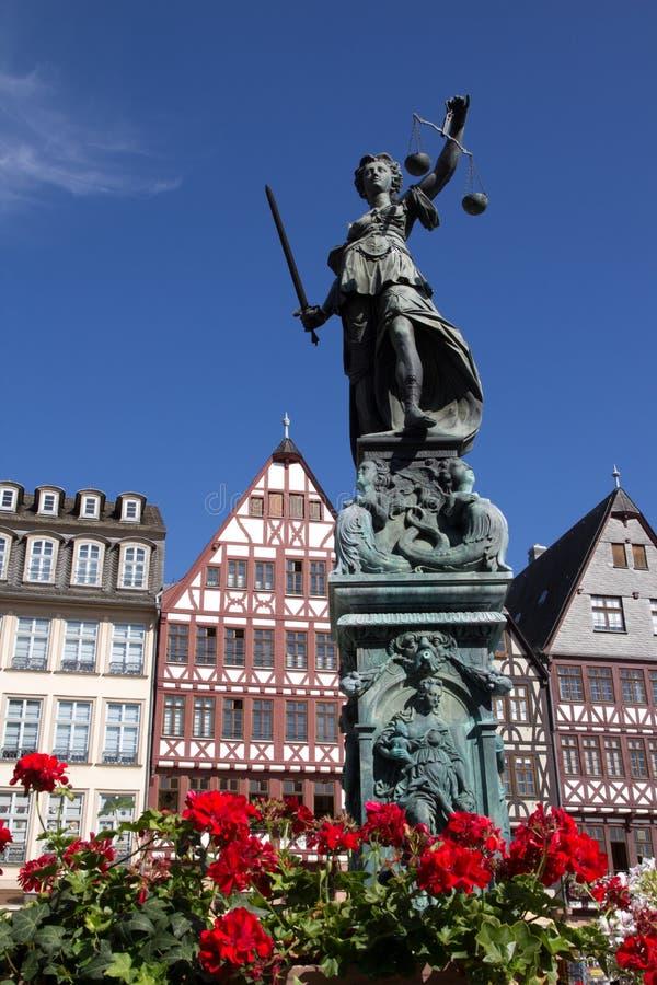 Romer in Frankfurt royalty free stock photos