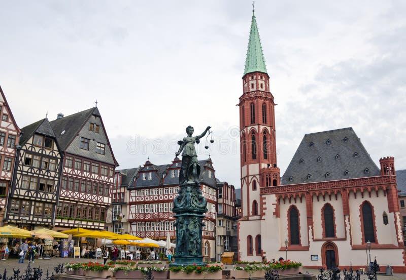Romerberg, Francfort, Allemagne photos libres de droits
