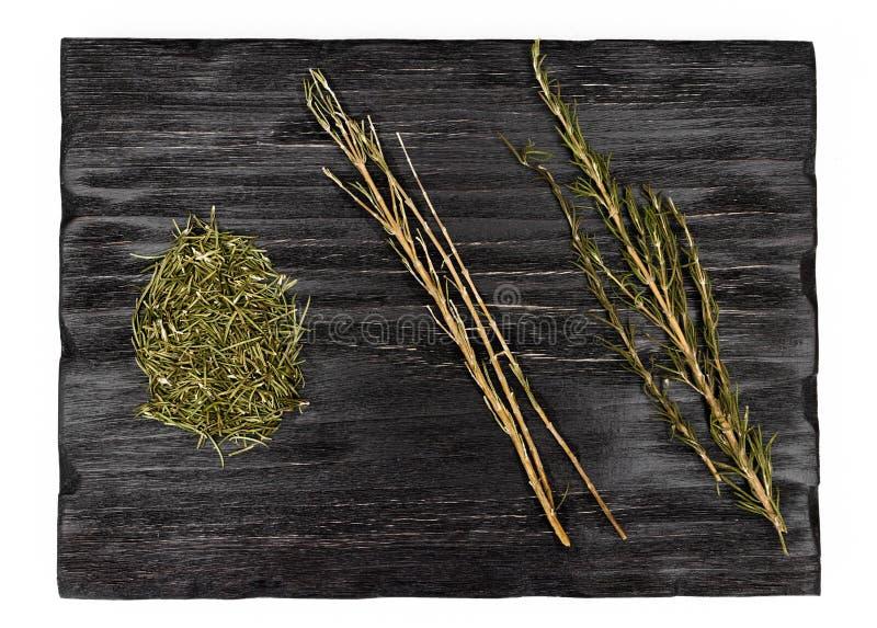 Romero, hierba y especia secados fotos de archivo