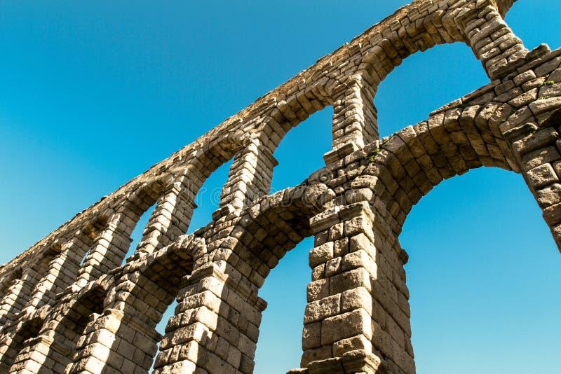 Romersk akvedukt royaltyfri bild