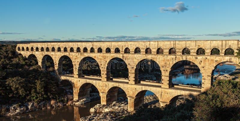 Romersk bro royaltyfria foton