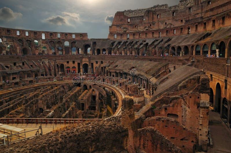 Romersk Coliseum royaltyfria bilder