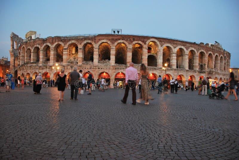 Romersk colsseum royaltyfri bild