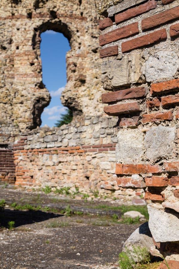 """Romersk fästning i Kula †""""Castra Martis royaltyfria foton"""
