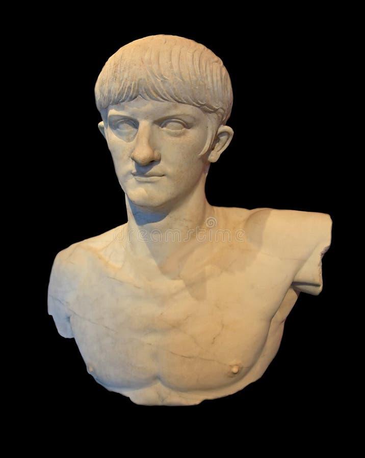 Romersk kejsare Nero royaltyfria foton