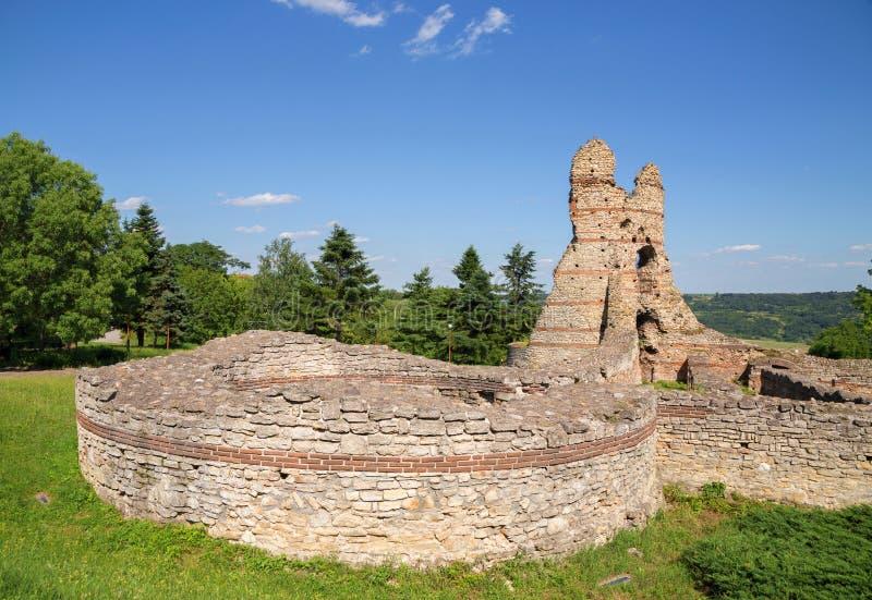 """Romerska forttress i Kula †""""Castra Martis arkivfoton"""