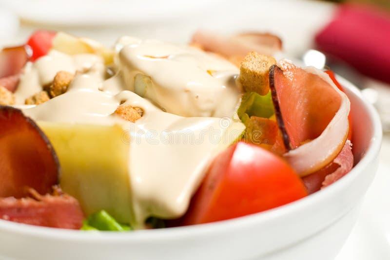 Romige salade stock afbeeldingen