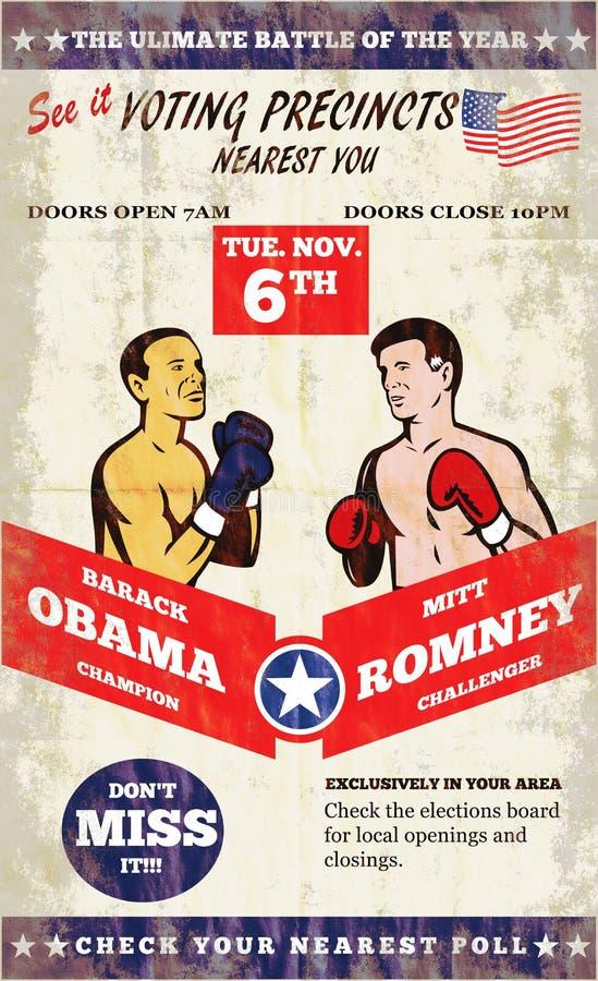 Romney contro inscatolamento americano 2012 di elezioni di Obama