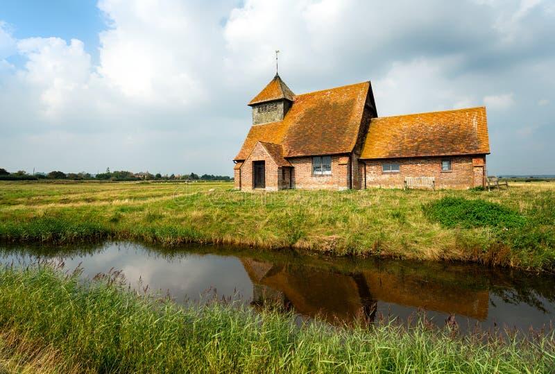 Romney Marsh in Kent lizenzfreie stockfotos