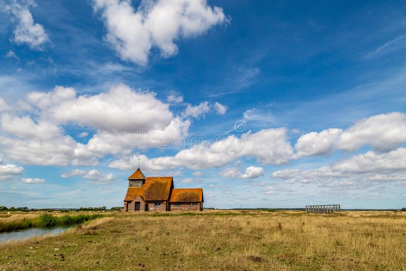 Romney Marsh Landscape lizenzfreies stockfoto