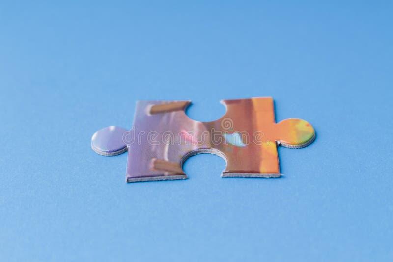 Rompecabezas colorido foto de archivo