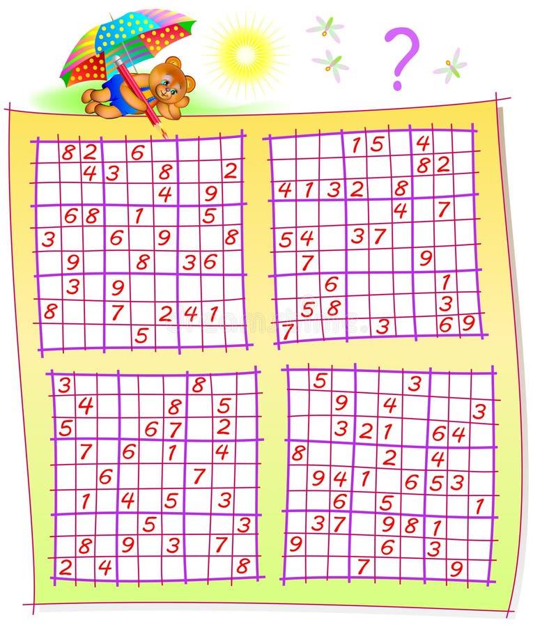 Hermosa Hojas De Trabajo Del Sudoku Inspiración - hojas de trabajo ...