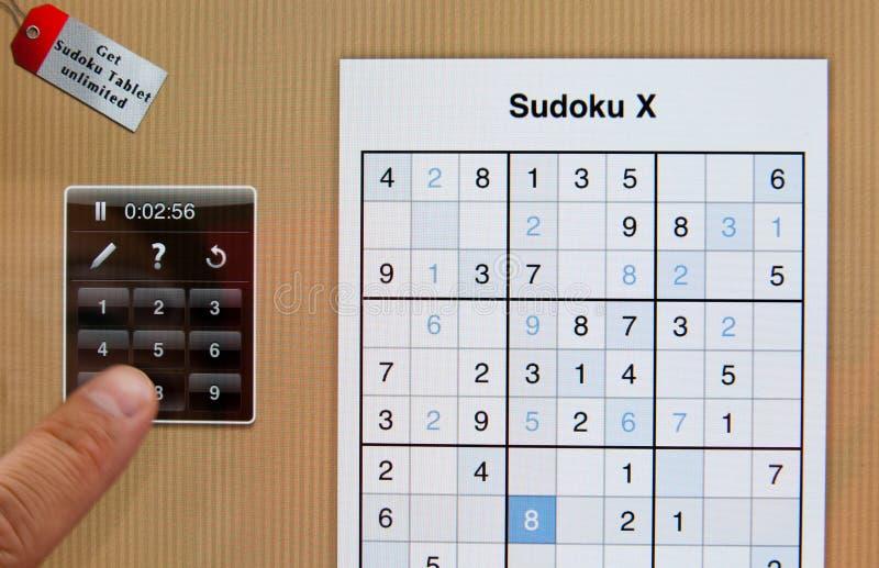 Rompecabezas de Sudoku imagen de archivo
