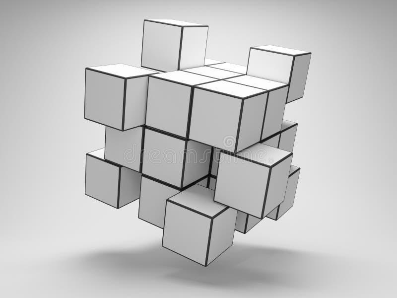 Rompecabezas del arsenal de los cubos libre illustration