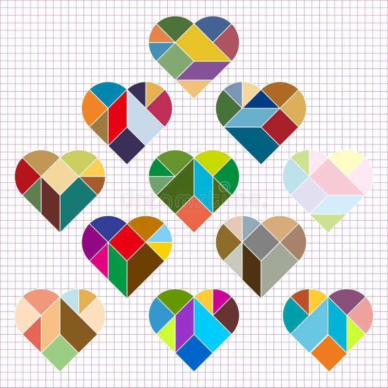 Rompecabezas del corazón del vector libre illustration