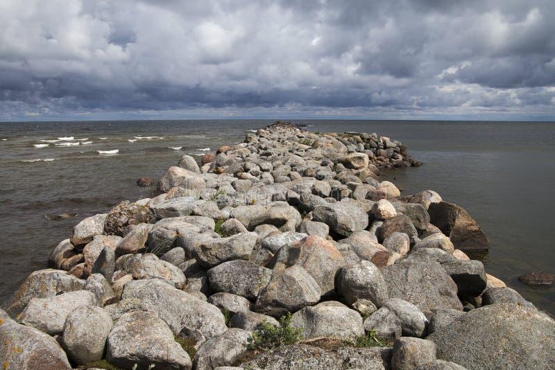 Download Rompeolas imagen de archivo. Imagen de outdoor, tormenta - 41918453