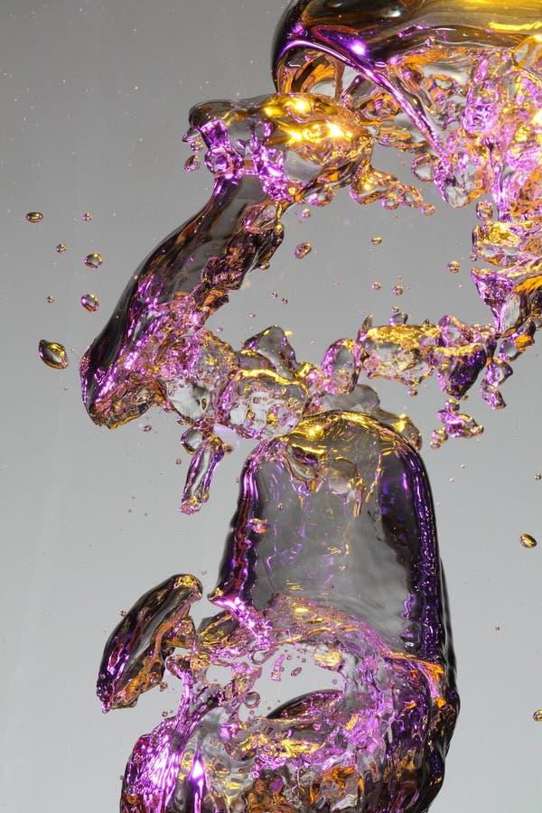 Romper Airbubbles foto de archivo