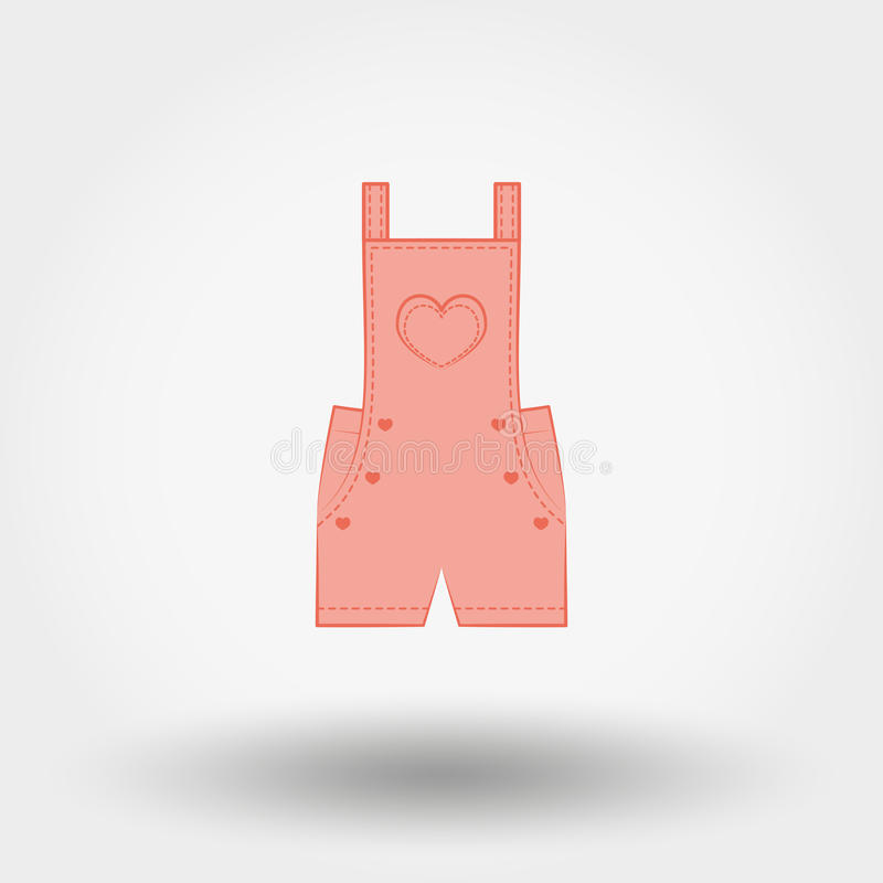 Rompers icon royalty free illustration