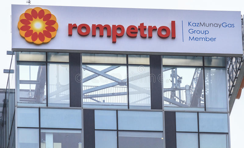 Rompetrol-Hauptsitz stockbilder