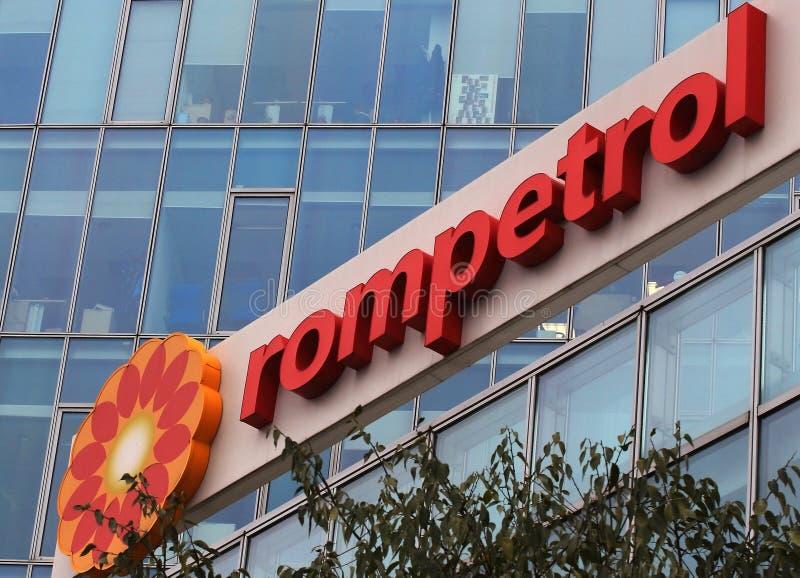 Rompetrol-Hauptsitze in Bukarest, Rumänien stockbild