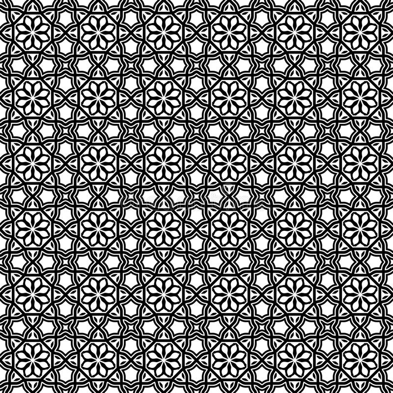 Rompukton-Modus: Asiatischer geometrischer Vektor Art Octagonal Design vektor abbildung