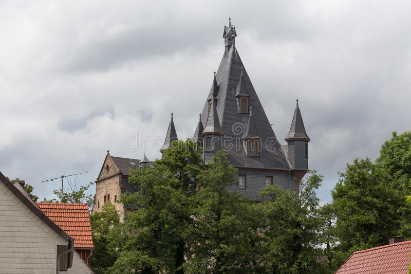 Romrod Assia Germania del castello immagine stock