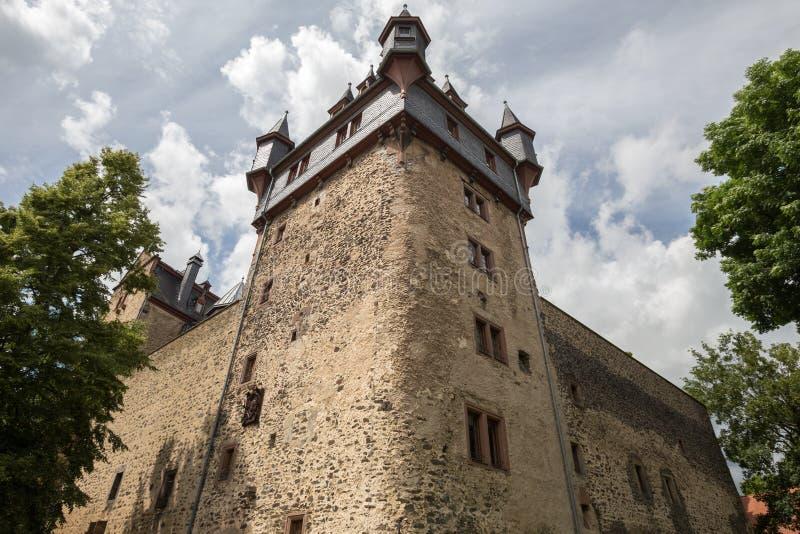 Romrod Assia Germania del castello fotografia stock