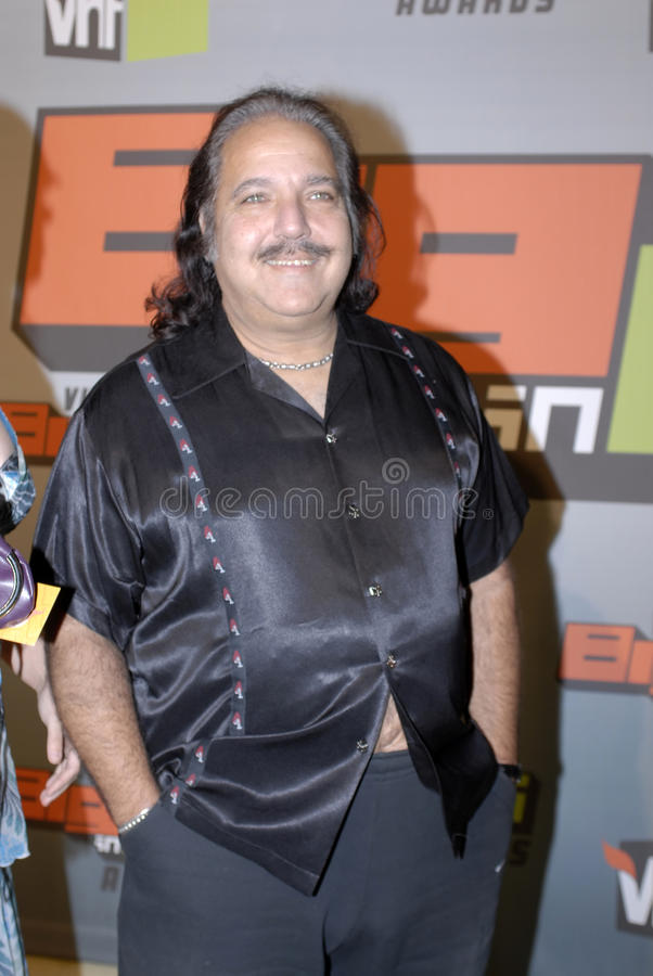 Ron Jeremy On The Red Carpet Editorial Stock Photo