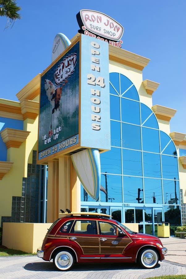 Ron Jon's Surf Shop, Cocoa Beach, Florida stock images