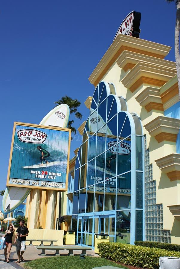 Ron Jon's Surf Shop, Cocoa Beach, Florida royalty free stock photos