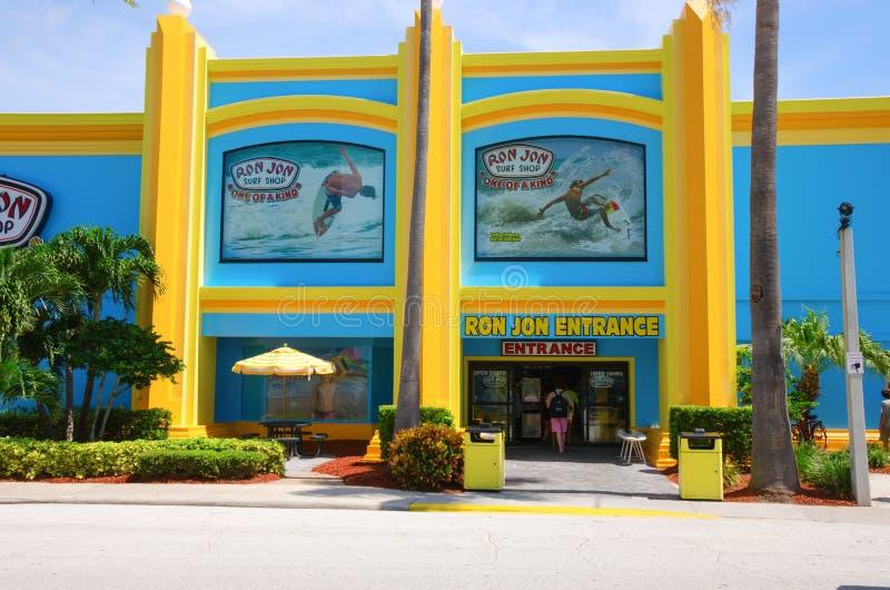 Ron Jon Surf Shop Cocoa Beach Florida fotografia de stock
