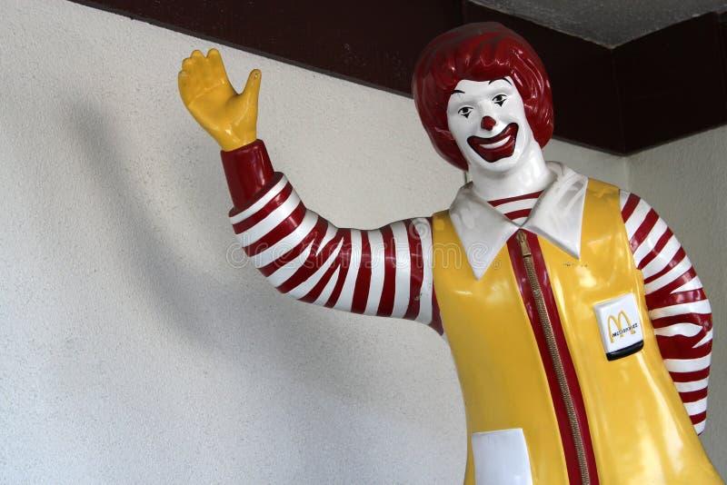 Ronald McDonald imagenes de archivo