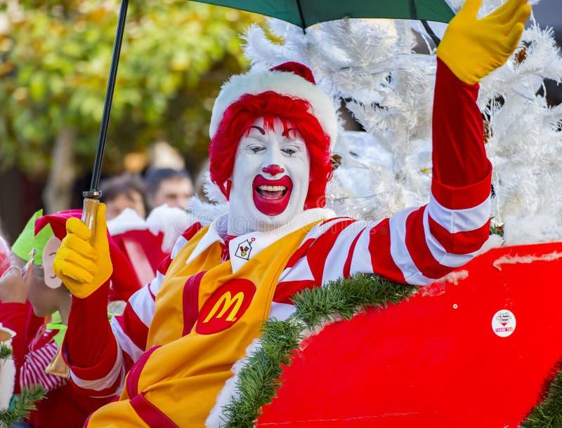 Ronald McDonald fotos de archivo