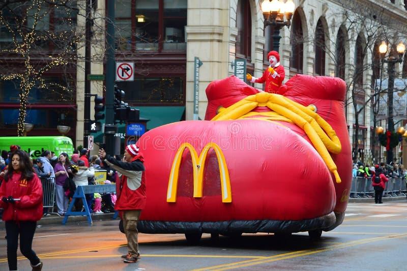 Ronald McDonald®, Honorary Grand Marshal stock photo