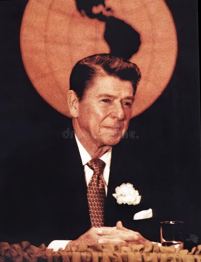 Ronald Reagan stock images