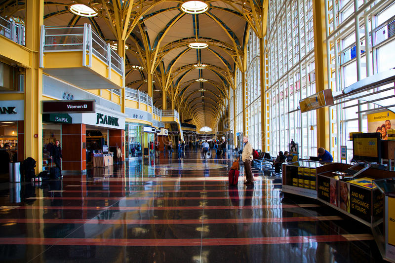 Ronald Reagan National Airport Editorial Stock Photo