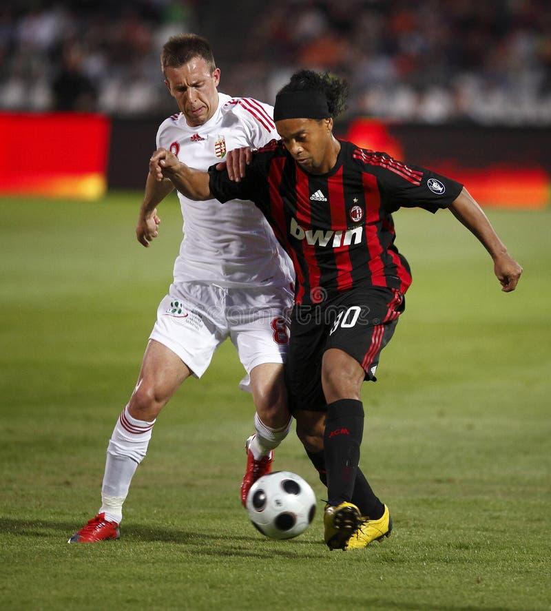 Ronaldinho royaltyfria bilder