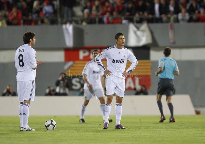 Ronaldo 058 fotografía de archivo libre de regalías