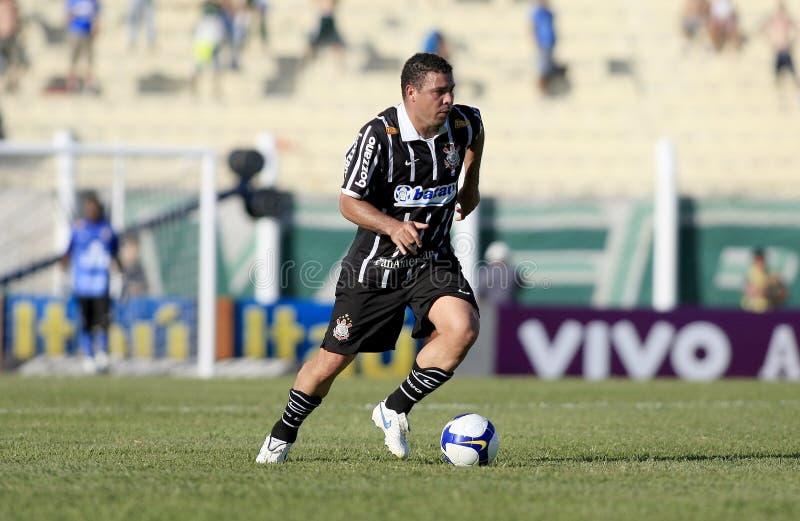 ronaldo brazylijska piłka nożna zdjęcia stock