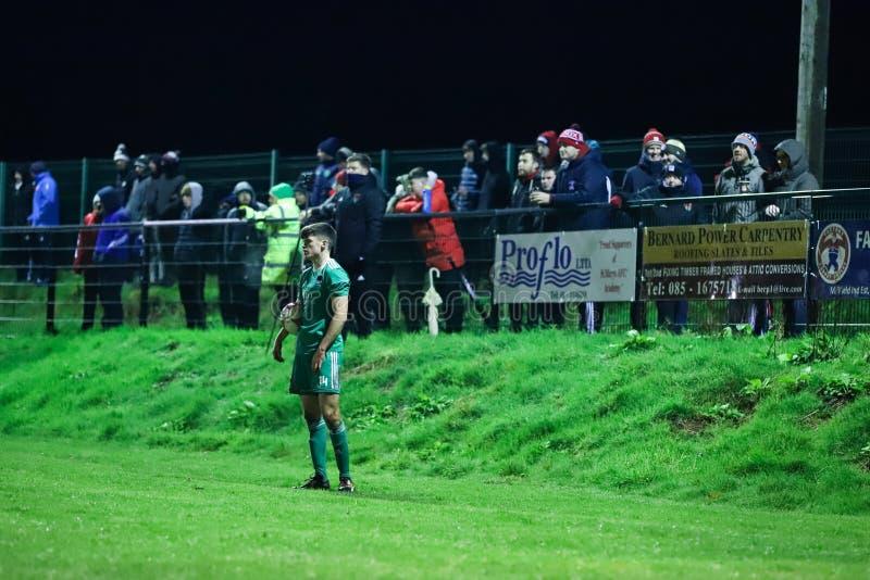 Ronan Hurley på densäsong vänskapsmatchen mellan Cork City FC och St Marys AFC arkivbild