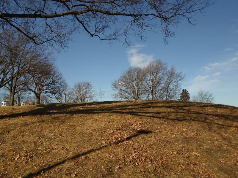 Ronan Park, Gebiedenhoek, Dorchester, Massachusetts, de V.S. stock foto