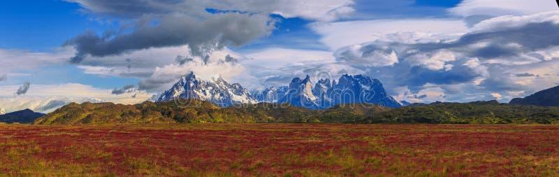 Rond Chileens Patagonië royalty-vrije stock fotografie