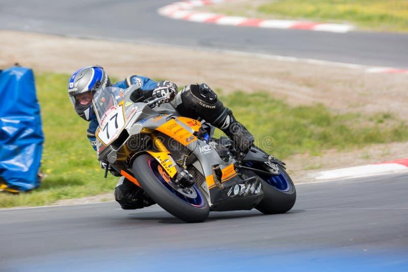 Rond de championnat australien de Superbike de YMF 6 image libre de droits