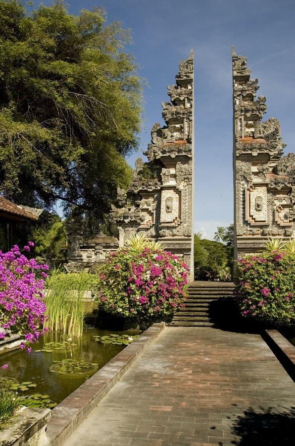 Rond de Reeks van Bali Indonesië stock fotografie