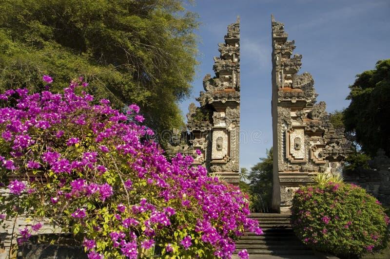 Rond de Reeks van Bali Indonesië stock foto's